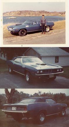 Original owner of 1971 Hemi'Cuda convertible
