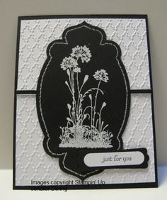 stampin up serene silhouettes card ideas | Serene Silhouettes – Black and White | Impressions By Day