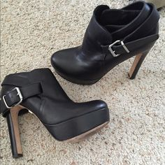 I just discovered this while shopping on Poshmark: Sky high booties. Check it out!  Size: 7
