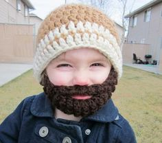 Kids Bearded Beanie    http://www.etsy.com/listing/68954925/kids-ultimate-bearded-beanie-warm-brown?ref=v1_other_1