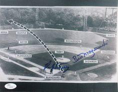 1960 World Series (Panoramic view of Mazeroski home run - Game Baseball Park, Pirates Baseball, Major League Baseball Teams, Shea Stadium, Yankee Stadium, Pittsburgh Sports, Pittsburgh Pirates, 1960 World Series, Pirate History