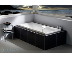 Carron freestanding double ended bath- Art deco style
