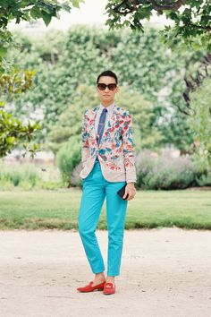 Loving this entire outfit. Fashion Director Rake magazine Esther Quek