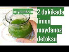 5 Günde  Zayıflayın | Maydanoz Limon Kürü nasıl yapılır | Detoks | Kilo Verme Şifalı Kür Tarifleri Eminem, Pickles, Cucumber, Youtube, Food, Eten, Pickle, Pickling, Cauliflower