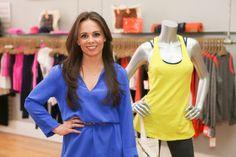 Danielle Burke of Atlanta Activewear in Style Blue Print Atlanta - love this girl!