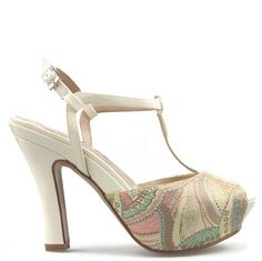 Gino Vaello shoes  7770 MOSAICO AMARILLO