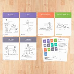 Yoga Cards – Practice guide with poses, breathing exercises and meditation – WLShop by WorkoutLabs
