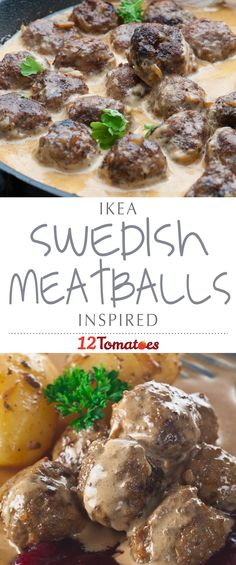 Ikea Inspired Swedish Meatballs