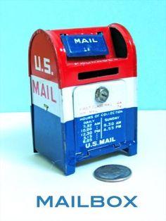 Mini mailbox. From Megan Jeffery's blog, Beetlegrass.