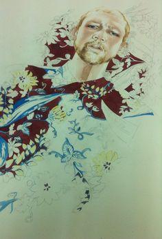 Working on Prada SS 2014 by Antonio Soares
