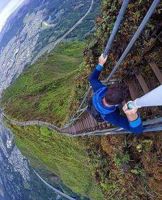 Stairway to heaven Hawaii USA