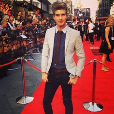Joey Graceffa at the This Is Us movie premiere!