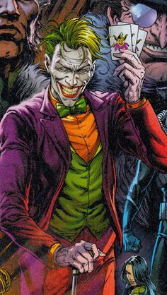 Joker Cartoon, Joker Dc Comics, Joker Comic, Batman Comic Art, Joker Art, Dc Comics Art, Joker Joker, Joker Arkham, Batman Batman