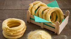 Κριτσίνια Καλαμποκιού   alevri.com Croissant Donut, My Favorite Food, Favorite Recipes, Greek Recipes, Biscotti, Donuts, Bakery, Recipies, Brunch