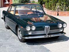 Alfa Romeo 2000 Praho Coupe 1960