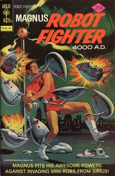 Magnus, Robot Fighter 40