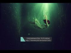Photoshop Tutorial - Underwater Scene - YouTube