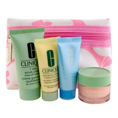 Need! Clinique Skincare Travel Set.