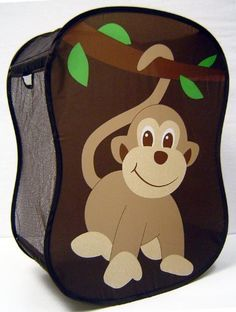 Cute idea for the baby's room.  Starting Small Monkey Novelty Hamper in Brown by Starting Small, http://www.amazon.com/dp/B001I459AS/ref=cm_sw_r_pi_dp_U8vtrb0AGEH0Q