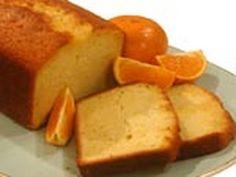 Tangerine-Soaked Tea Cake Recipe
