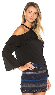 Shop for Alice + Olivia Layla Cold Shoulder Top in Black at REVOLVE. Free 2-3 day shipping and returns, 30 day price match guarantee.