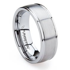 super affordable, but still fashionable brushed tungsten ring $59.99 http://www.tungstenringstore.com/