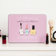 Caja metálica wonder - La belleza está en el interior #mrwonderful #beauty #pink