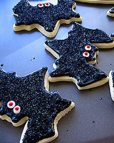 Bat Cookies Recipe
