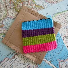 Check out this simple weaving tutorial on Instructables using our Bonbons yarn.