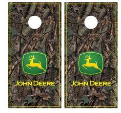 John Deere V Stripe Boards Family Tailgating Bag Toss Pinterest And Board