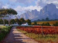 Image result for roelof rossouw paintings Landscape Art, South Africa, Country Roads, Mountains, Nature, Landscapes, Travel, Paintings, Outdoor
