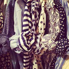 Stripes,Polka Dots and Chambray Shirts