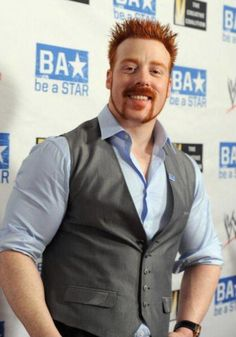 They don't get much sexier than WWE superstar Sheamus