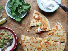 Chicken Quesadillas Recipe | Saveur