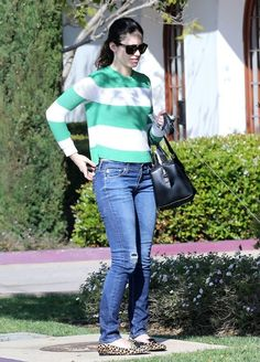 Emmy Rossum in Santa Barbara