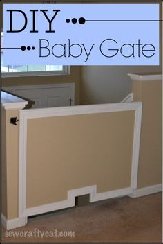 Diy Bottom Of Stairs Baby Gate W One Side Banister Get A
