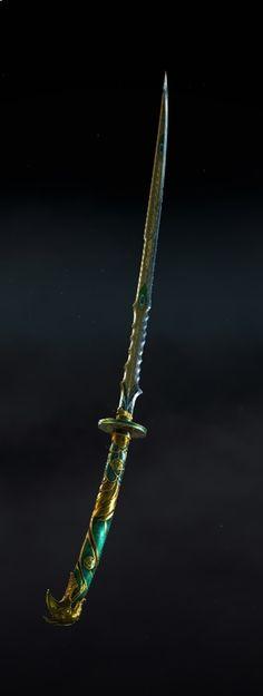 Fantasy Blade, Fantasy Sword, Fantasy Armor, Fantasy Weapons, Medieval Fantasy, Fantasy Heroes, Cloak And Dagger, Sword Design, Dungeons And Dragons Homebrew
