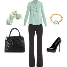 """""""Seafoam Work"""" by ggdesigns on Polyvore"""