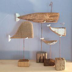 18 Driftwood Decoration Tips – Decoholic 18 Treibholz Dekor Ideen – Decoholic Driftwood Projects, Diy Projects, Driftwood Furniture, Driftwood Ideas, Beach Crafts, Diy Crafts, Simple Crafts, Wooden Crafts, Driftwood Fish