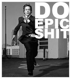 It's all Robert Downey Jr. ever does.