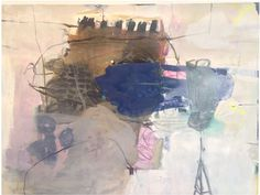 Jette Segnitz, 2014. Mixed Media on Canvas.