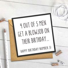 Excited to share this item from my etsy shop: Funny Birthday Card For Boyfriend, Rude Birthday Card, Funny Cards, Boyfriend Birthday Card papergoods birthdaycard funnybirthdaycard forboyfriend funnycards rudebirthdaycard 323907398201056387 Funny Birthday Message, Rude Birthday Cards, Birthday Numbers, Handmade Birthday Cards, Card Birthday, Diy Birthday, Happy Birthday Rude, Cute Birthday Messages, Birthday Sayings