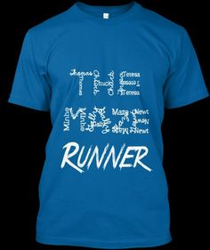 Loving this shirt!!! The first two words are made up of the Maze Runner characters names!!!