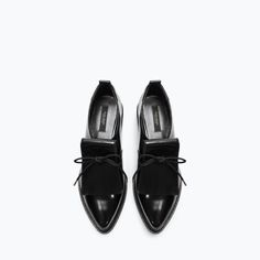 BLUCHER WITH FRINGES from Zara