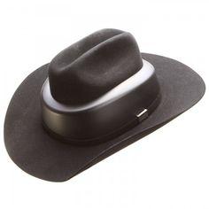 Resistol Ride Safe Felt Cowboy Hat Helmet