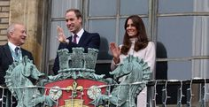 The Duke and Duchess of Cambridge visit Cambridge