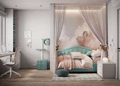 Kids Bedroom Designs, Bedroom Decor For Teen Girls, Room Design Bedroom, Small Room Bedroom, Room Ideas Bedroom, Kids Room Design, Home Room Design, Baby Room Decor, Toddler Rooms