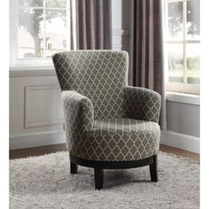Nathaniel Home London Swivel Accent Chair