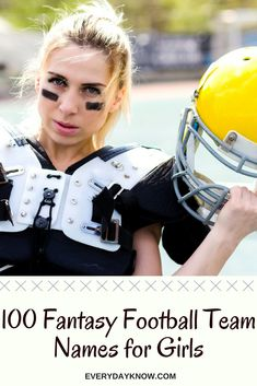 36ad1ae0 100 Fantasy Football Team Names for Girls Top Fantasy Football Names,  Fantasy Team Names,