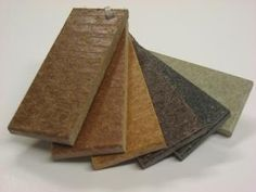 Straw composite - composed of recycled plastics and 94 percent wheat straw. Trademarks e.g. Terrafence and Terradeck. http://naturescomposites.com